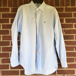 Vineyard Vines Men Blue Button Down Shirt Size M